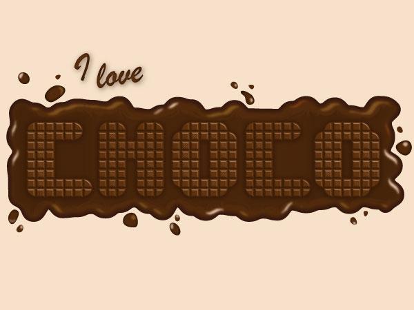 Chocolate-Text-Effect-illustrator--tutorial