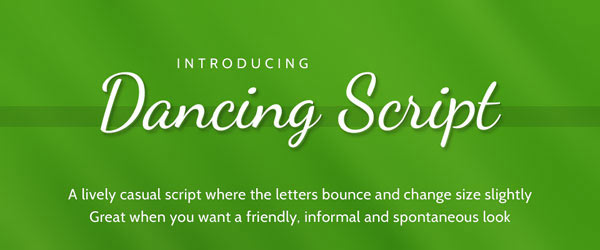Elegant Dancing Script best beautiful elegant free fonts download Top 25 Best & Beautiful Free Script Fonts Of 2012