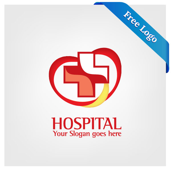 Free-Vector-Heart-Care-Hospital-Logo-Download