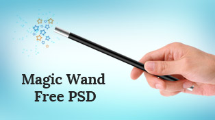 Magician-holding-magic-wand-free-Stock-psd