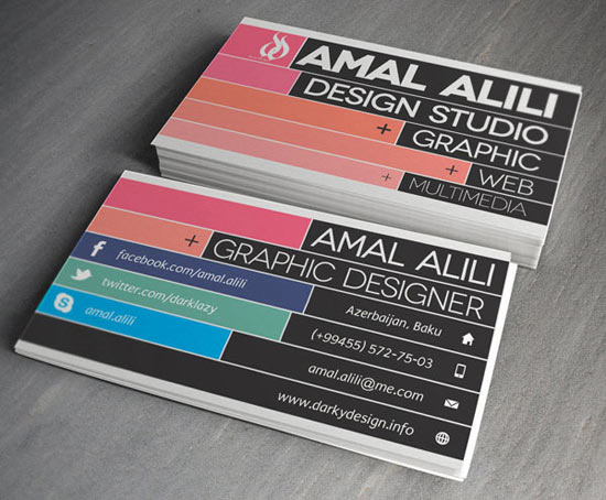 20+ New Cool & Creative Business Card Designs For Inspiration