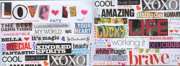 Love Typography Facebook Timeline Cover