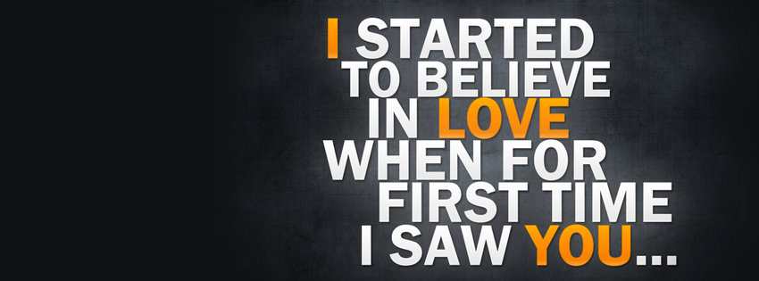 Loves Quote Facebook Cover Photo