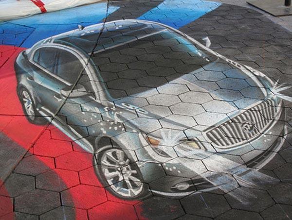 3D-Car-Street-Art-Painting
