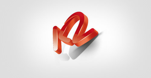 3D-K2-Cool-Creative-Logo-Logotypes-Example