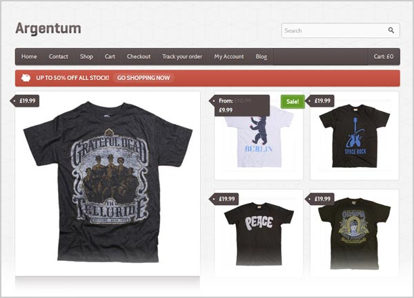 20 best free premium ecommerce wordpress themes for for Best website to sell t shirts