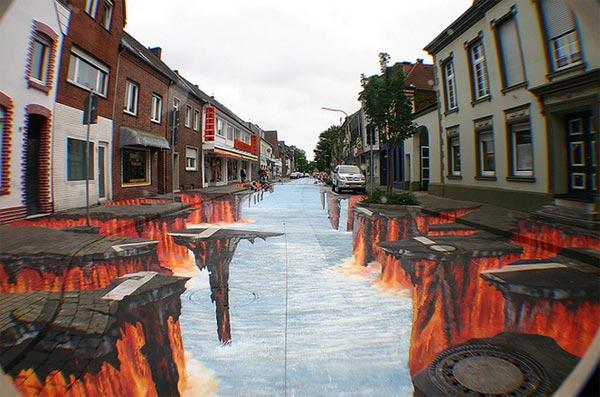 Beautiful-3D-Street-Art-Painting