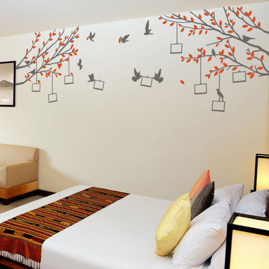 designs of wall stickers wall art decals to decor your bedrooms