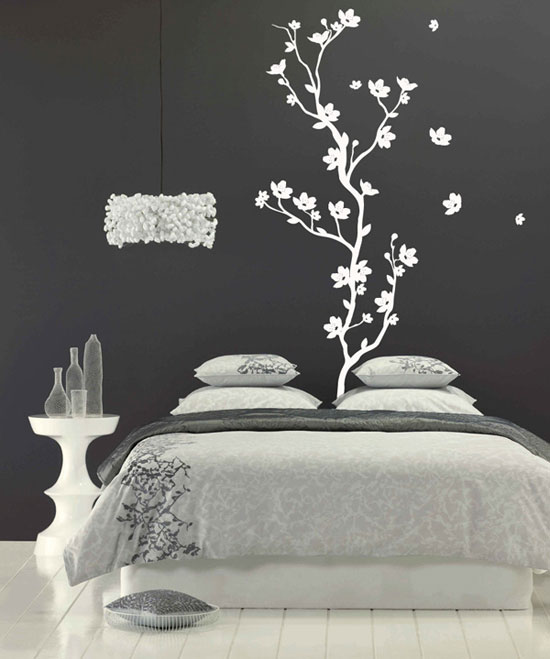 50 beautiful designs of wall stickers wall art decals Wall stickers for bedrooms