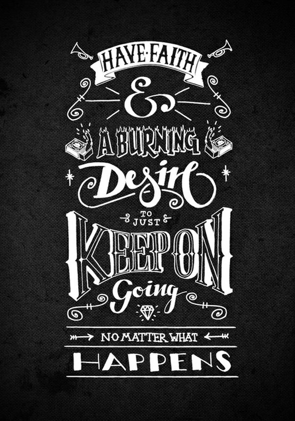 Quotes Design New 25 Beautiful Yet Inspiring Typography Design Quotes  Best Poster
