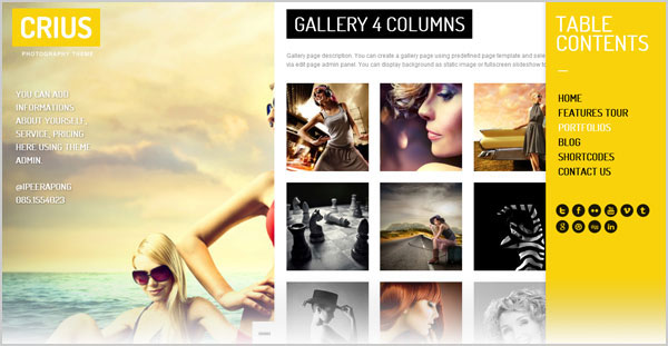 20 Simple Yet Elegant Free & Premium WordPress Portfolio Themes For ...