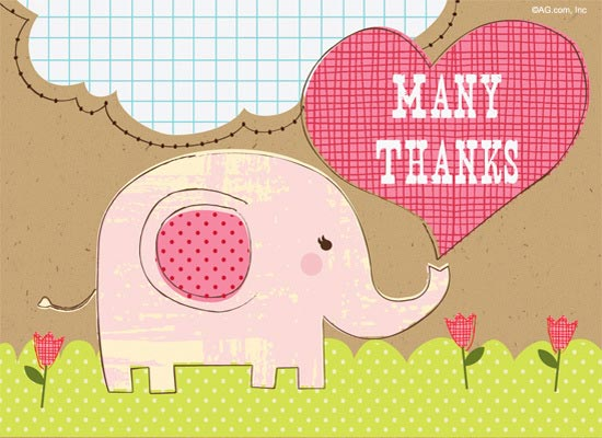 cute thank you postcard design ideas - Postcard Design Ideas