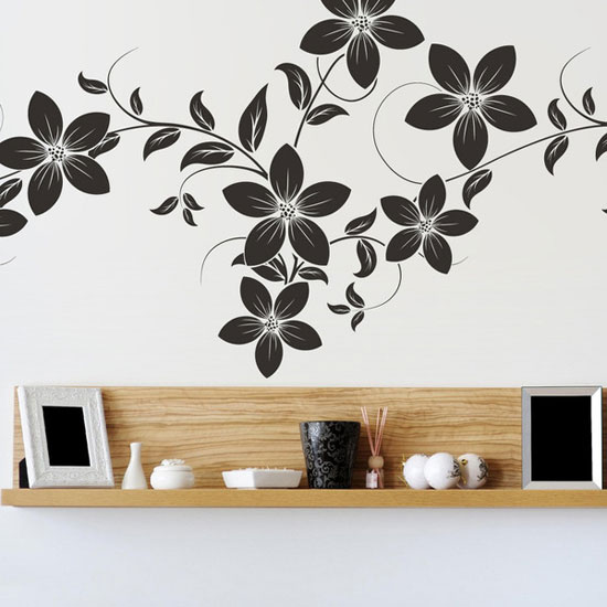Wall Decor Flowers 28+ [ stickers for wall decor ] | 5 types of wall art stickers to