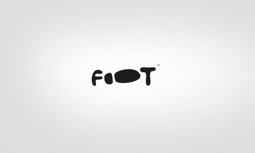 Footwear-Cool-Creative-Logo-Logotypes-Example
