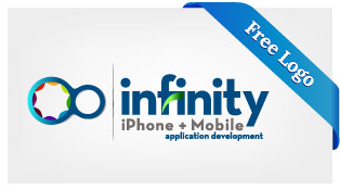 Free-Vector-Infinity-iphone-mobile-application-development-Logo-Download-F