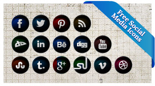 Free-Vector-Round-Black-Social-network-icon-pack-2012