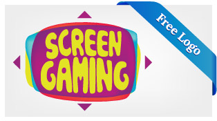 Free-Vector-Screen-gaming-Logo-Download