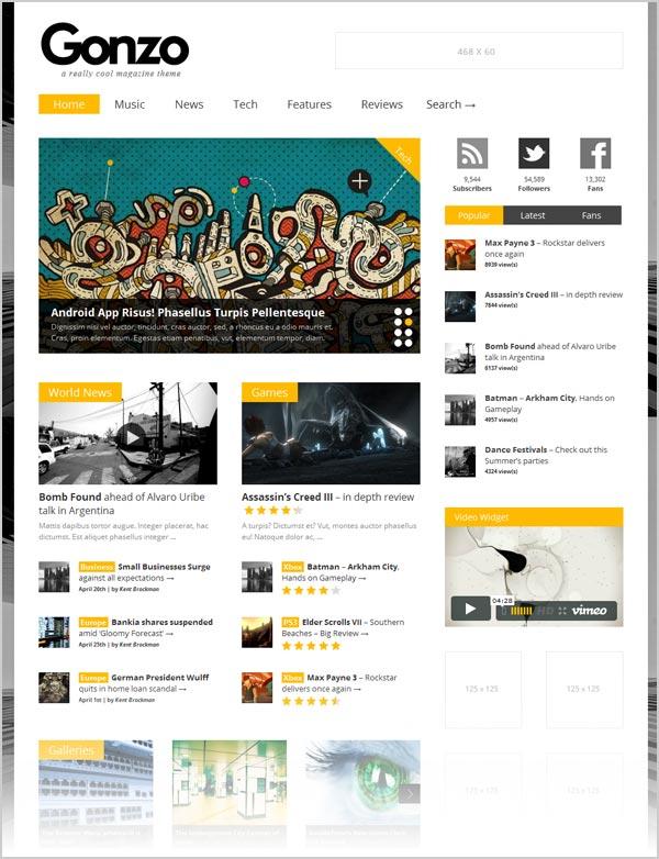Gonzo-premium-responsive-Magazine-wordpress-theme