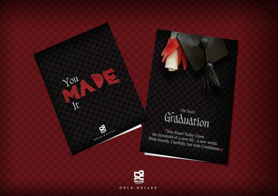 graduation postcard designs - Postcard Design Ideas