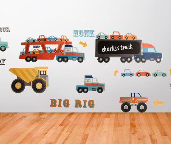 Beautiful Designs Of Wall Stickers Wall Art Decals To Decor - Wall decals cars