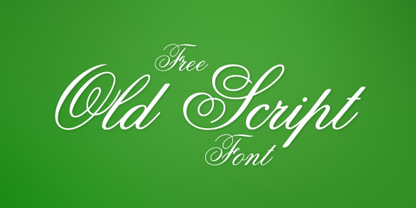 Old Script Best Beautiful Free Script Font Top 25 Best & Beautiful Free Script Fonts Of 2012