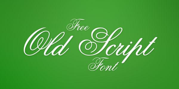 Old-Script-Best-Beautiful-Free-Script-Font