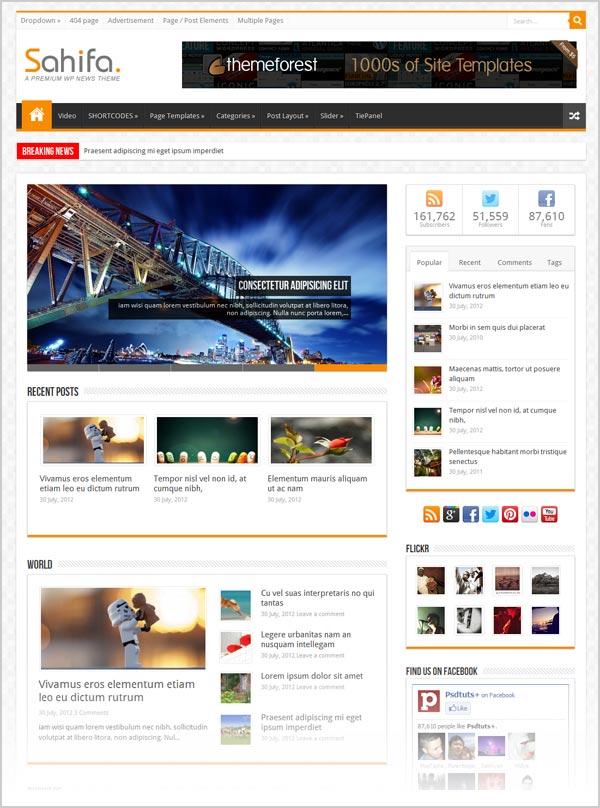 Sahifa-premium-responsive-Magazine-wordpress-theme