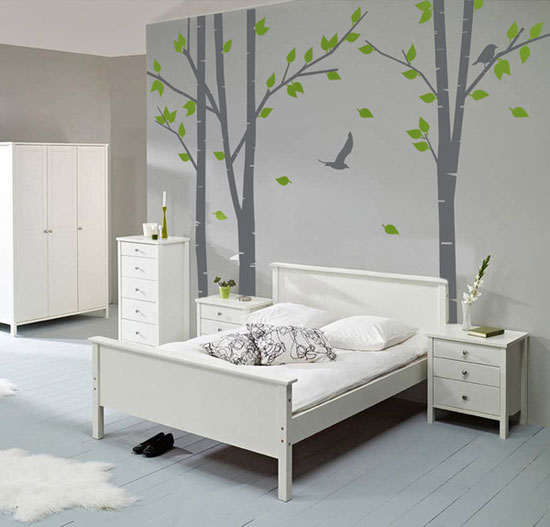 Beautiful Designs Of Wall Stickers Wall Art Decals To Decor - Vinyl wall decals birch tree