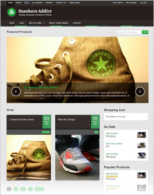 Sneakers-addict--eCommerce-Premium-WordPress-Theme-for-footwear