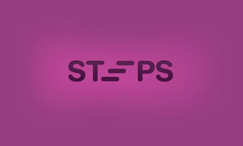 Steps-Cool-Creative-Logo-Logotypes-Example