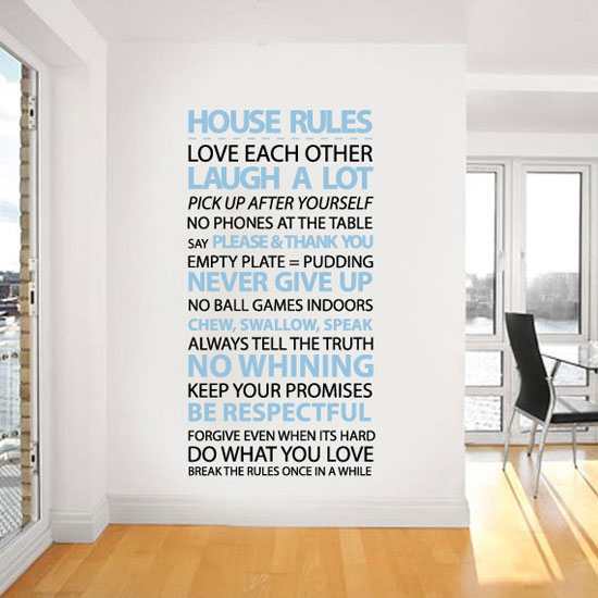 Vinyl-Wall-Stickers-Quotes-to-decor-your-Bedrooms-  sc 1 st  Design Bolts & 50+ Beautiful Designs Of Wall Stickers / Wall Art Decals To Decor ...