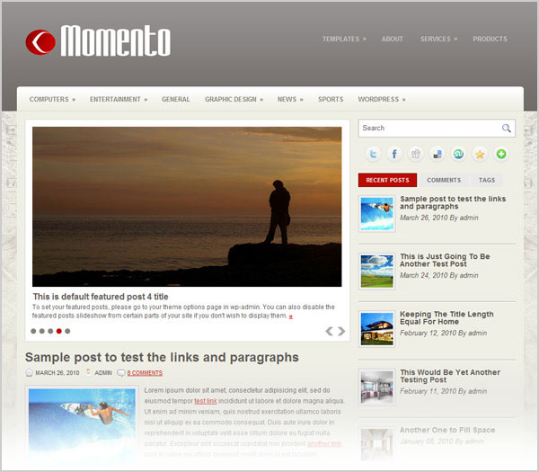 best-free-simple-beautiful-elegant-magazine-wordpress-theme-2012