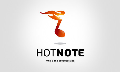 hot-note_Cool-Creative-Logo-Logotypes-Example
