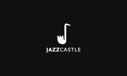jazz-castle-Cool-Creative-Logo-Logotypes-Idea