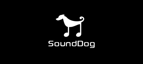 sound-dog-Cool-Creative-Logo-Logotypes-Example