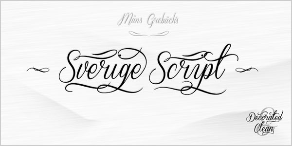 sverige script Best Beautiful Free Script Font Top 25 Best & Beautiful Free Script Fonts Of 2012