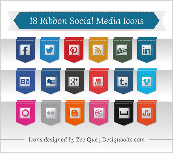 ribbon icons