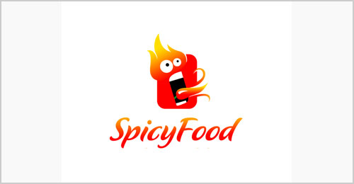 Spicy-Food-Cool-Logo-Design-Idea