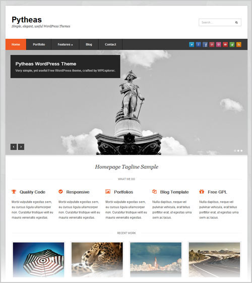 20 best professional free corporate business wordpress themes of 2012 best professional free business responsive wordpress themes cheaphphosting Images