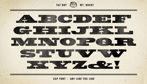 Fatboy-Husky-New-Best-Beautiful-Free-Fonts-2012