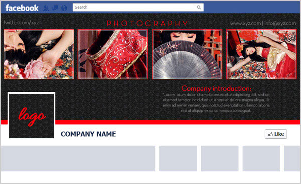 Free Facebook Timeline Cover Psd Template For Brand Page Design