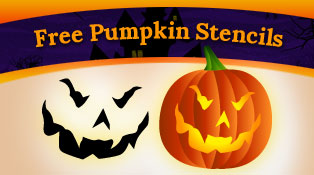 free halloween pumpkin carving patterns 2012 15 scary stencils in vector format - Free Scary Halloween Pumpkin Carving Patterns
