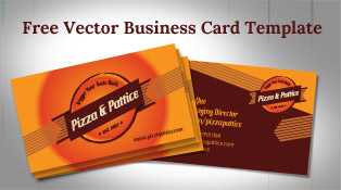 Free-Vector-Pizza-&-Pattice-Business-Card-Design-Template