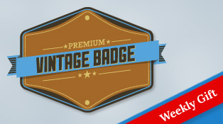 Free-Vector-Premium-Vintage-Badge