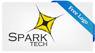 Free-Vector-Spark-Technology-Logo-Download