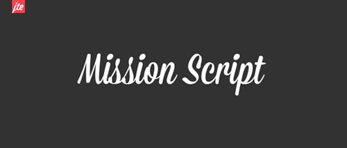 Mission-Script-New-Best-Beautiful-Free-Fonts-2012