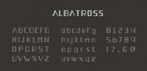 Albatross-New-Best-Beautiful-Free-Fonts-2012