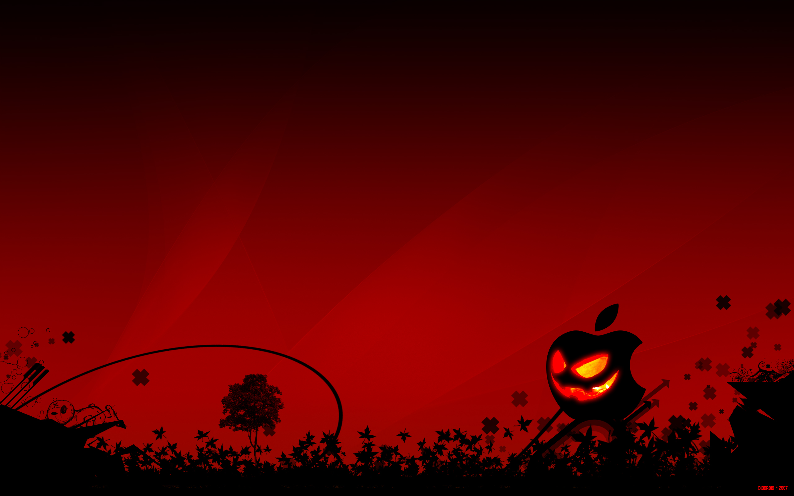 Think_Halloween_2012 HD Wallpaper 2