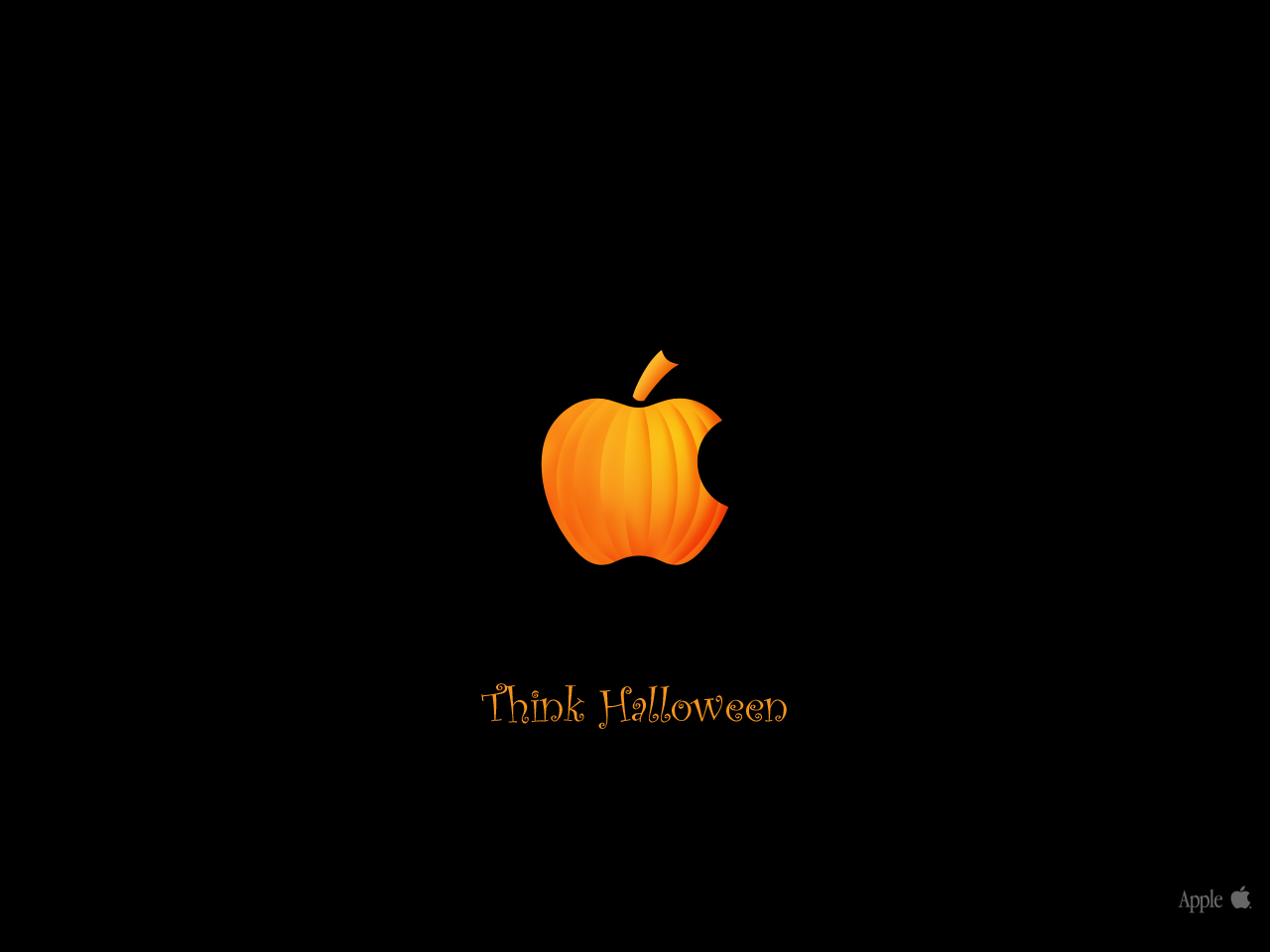 Think_Halloween_2012 HD Wallpaper