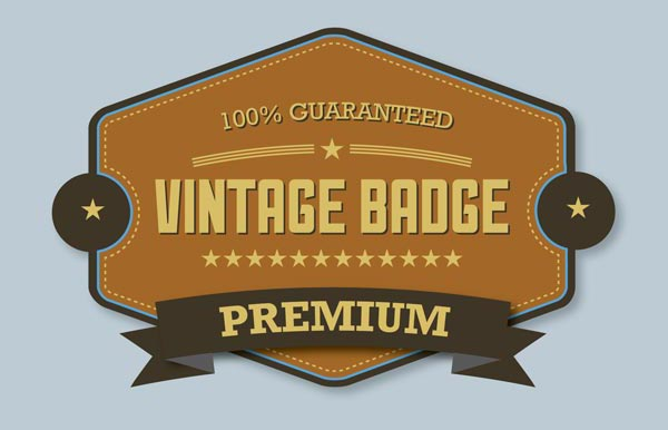 Final-Result-Premium-Vintage-Badge-illustrator-tutorial